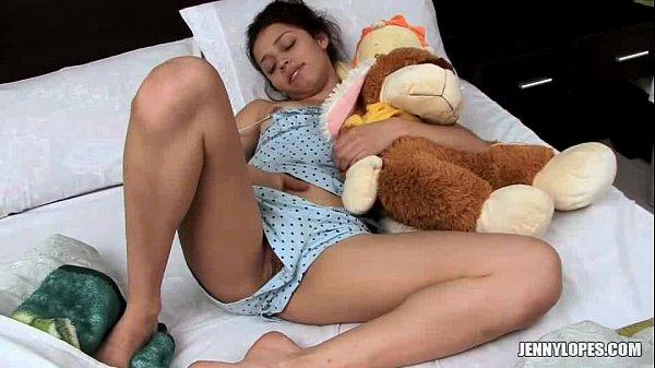 Nena Colombiana Se Despierta Muy Caliente