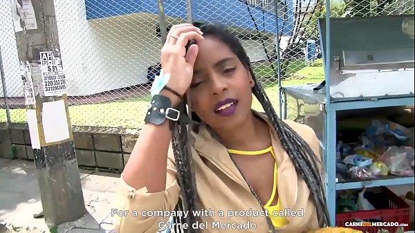 Negra Colombiana De Tetas Grandes